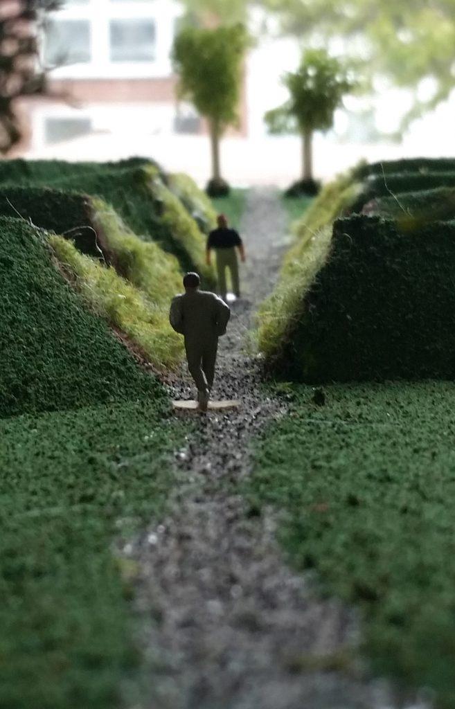 Artist's model of park