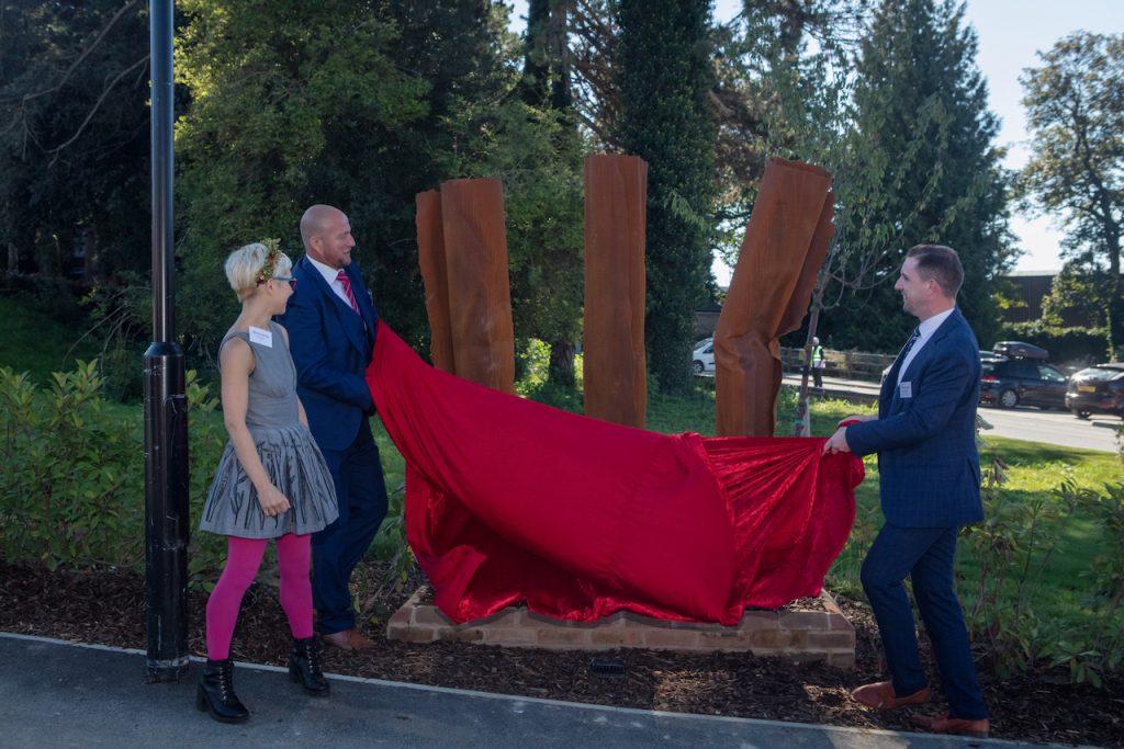 Kerry unveiling sculptures