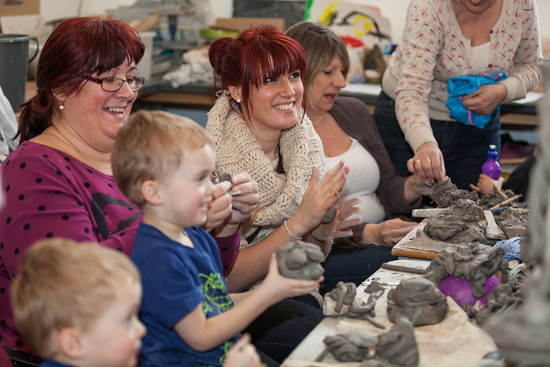 pottery workshop for families