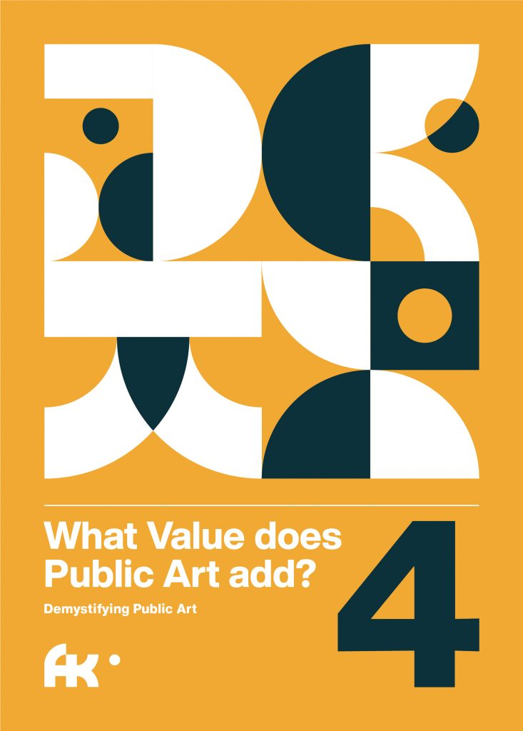 Cover of digital download What Value does Public Art add?